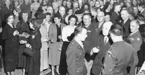 AGRC Party at the Hotel Celtic: 1948